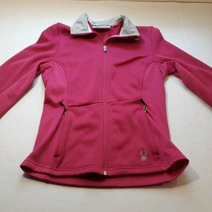Spyder Core Womens Jacket Full Zip Fitted  Pink M